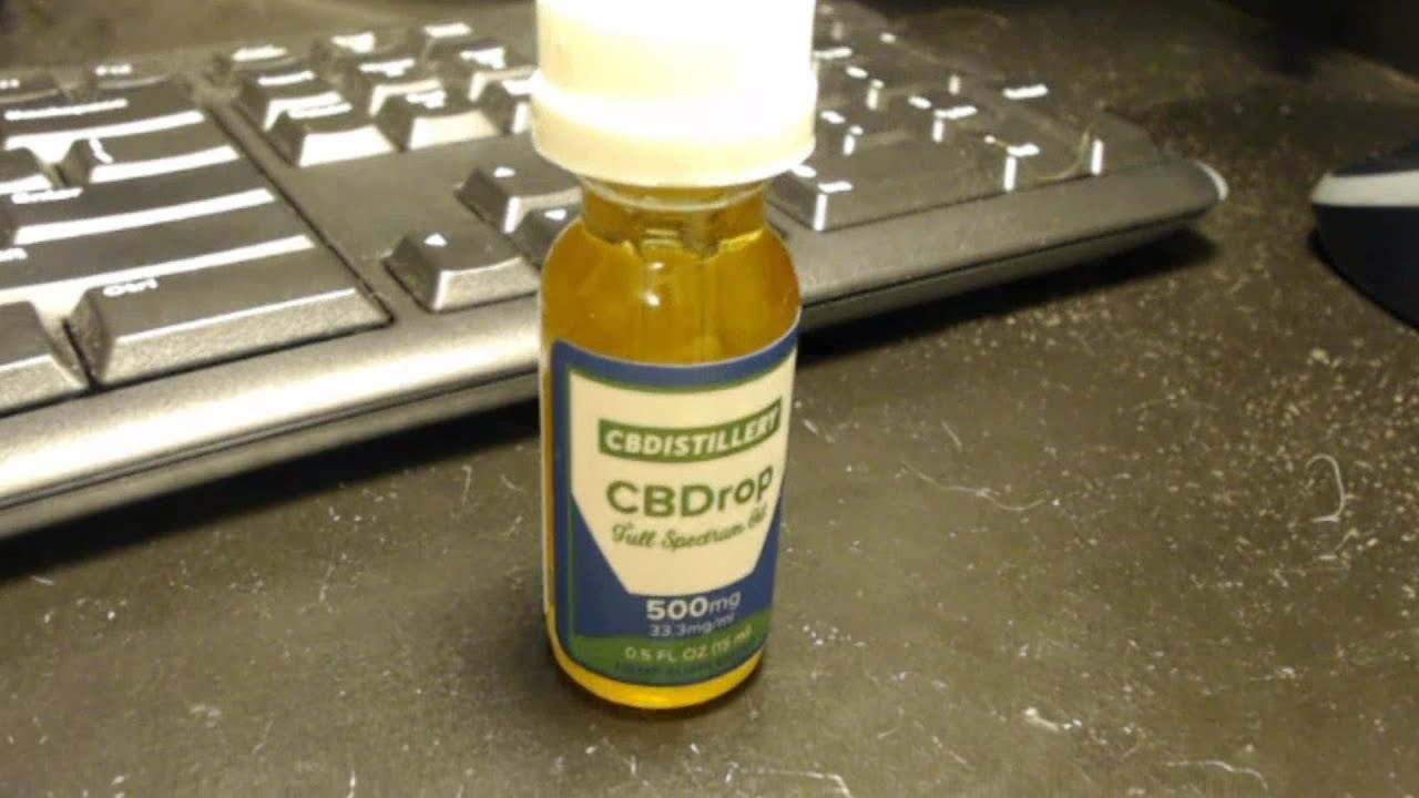 CBD Distillery 500mg Oil Review 1
