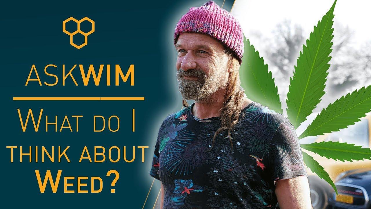 Iceman Wim Hof and Weed? #AskWim 1