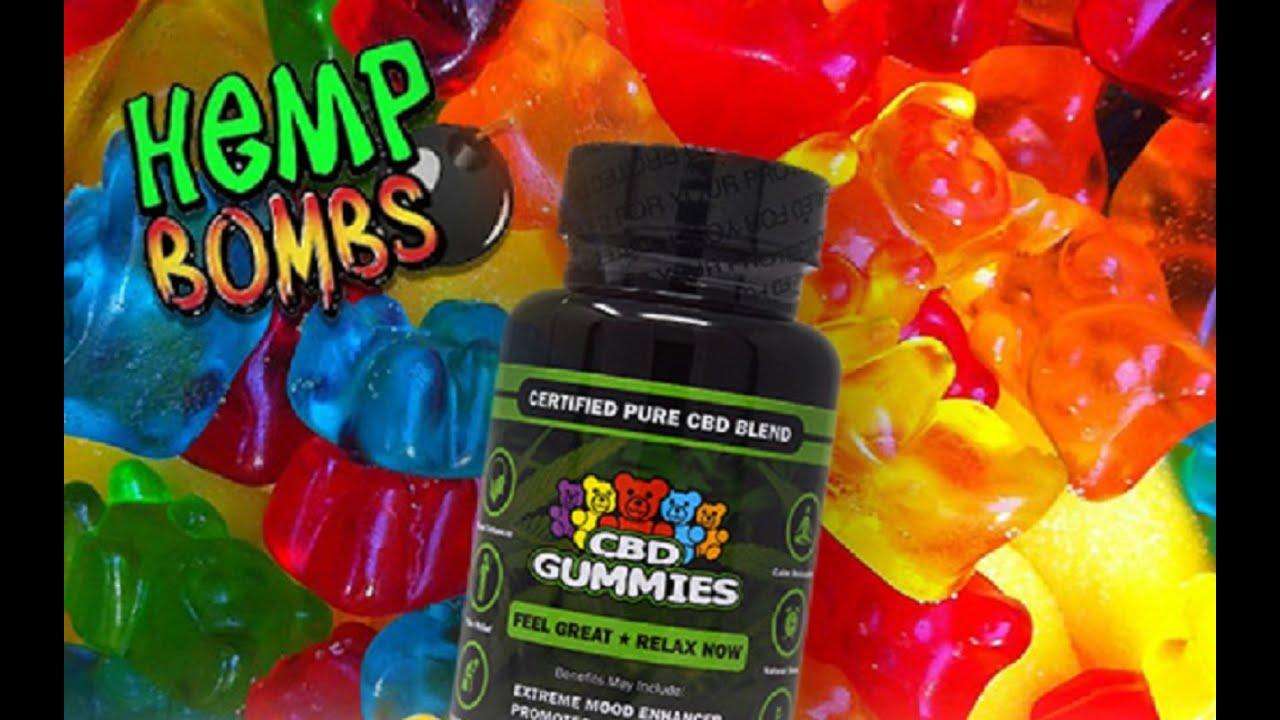 Hemp Bombs Review - 15mg Gummies & 1,000mg oil drops (CBD) 1