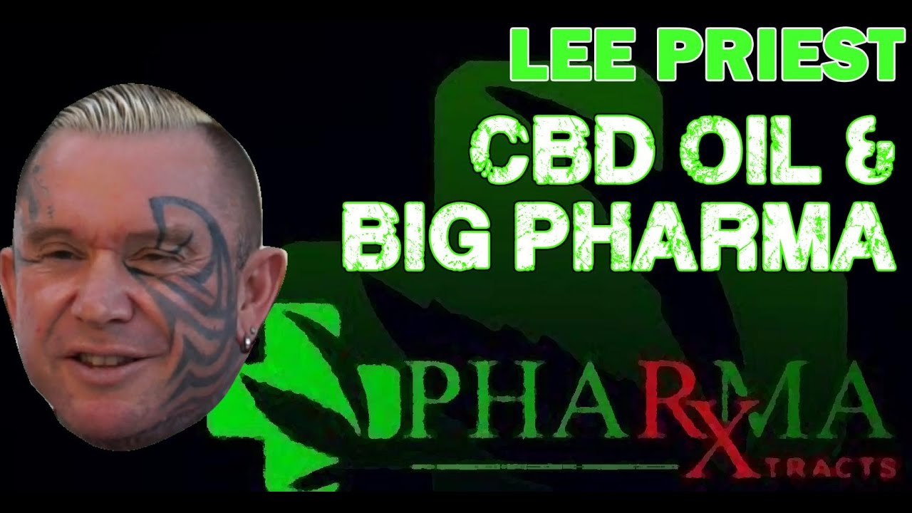 LEE PRIEST and CBD Oil for Pain Relief 1