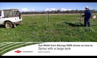 Woody Weed Specialists Tips - Spot spraying with a larger mixing tank 12