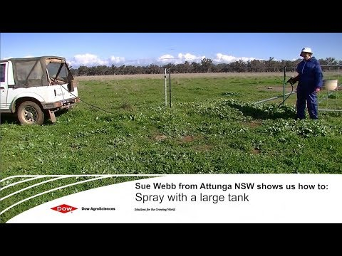 Woody Weed Specialists Tips - Spot spraying with a larger mixing tank 1