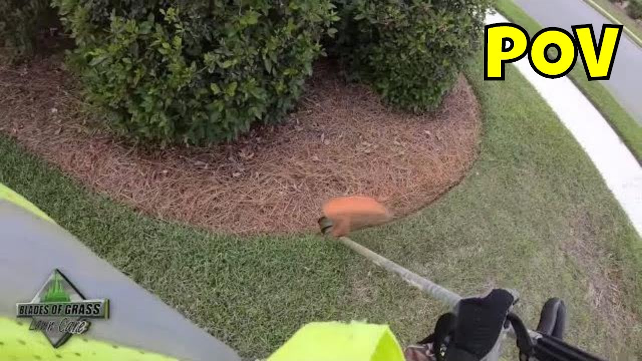 HOW I SEE IT (weed eating - weed whacking) POV 1