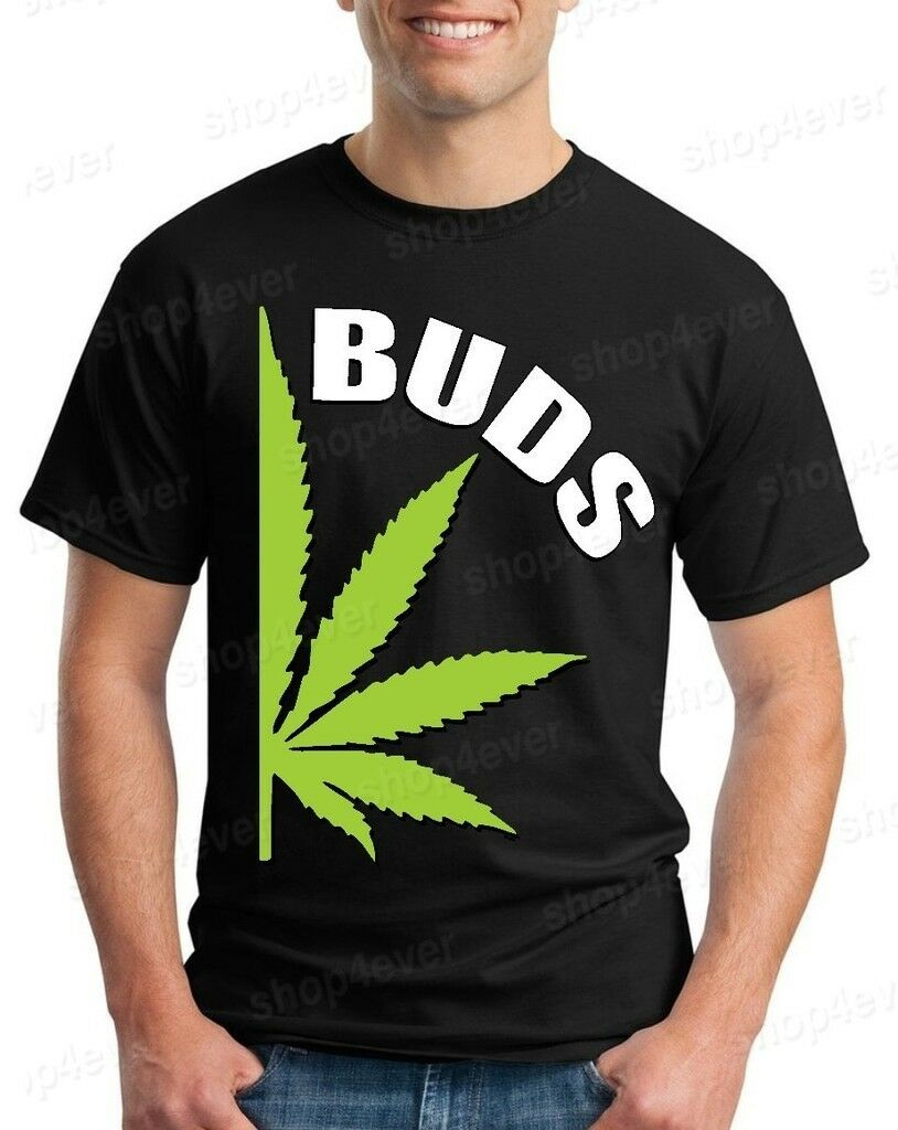 BUDS Couples Matching Marijuana T-shirt Best Buds Weed Shirts 1