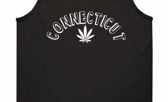 Marijuana Weed Connecticut USA State CT Tank Top T-Shirt 2