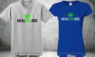 NEW THC IS MEDICINE WEED CANNABIS T-SHIRT HEALTHCARE MEN &WOMEN COOL 3 HA1 5