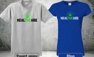 NEW THC IS MEDICINE WEED CANNABIS T-SHIRT HEALTHCARE MEN &WOMEN COOL HA1 12