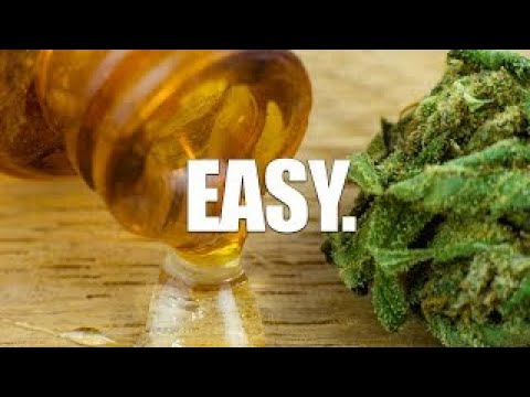 How To Make Your Own STRONG Cannabis Oil (CBD Oil or THC Oil) 1