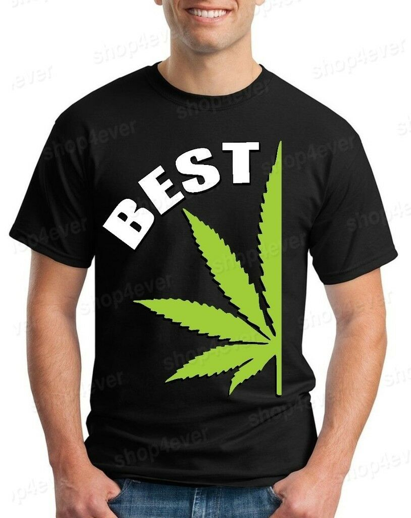 BEST Couples Matching Marijuana T-shirt Best Buds Weed Shirts 1