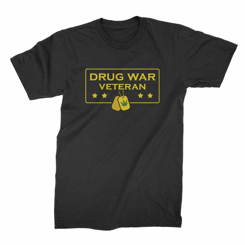 Drug War Veteran Shirt Funny Weed Shirts 1