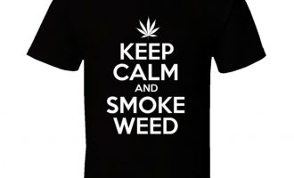 Keep Calm And Smoke Weed T Shirt 9