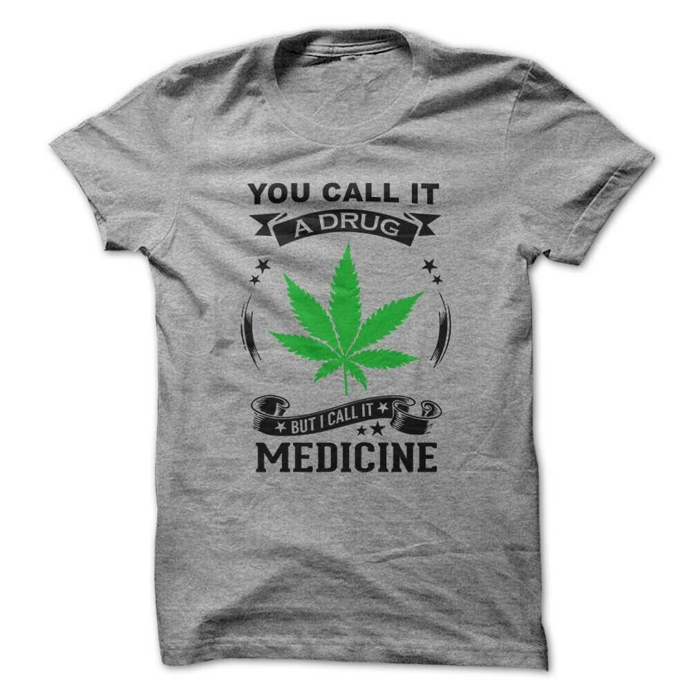 Medical Drug Legalize Marijuana Weed 420 Men's Funny T-shirt  High Times Chronic 1