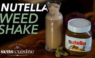 Der NUTELLA Weed Milchshake! 6