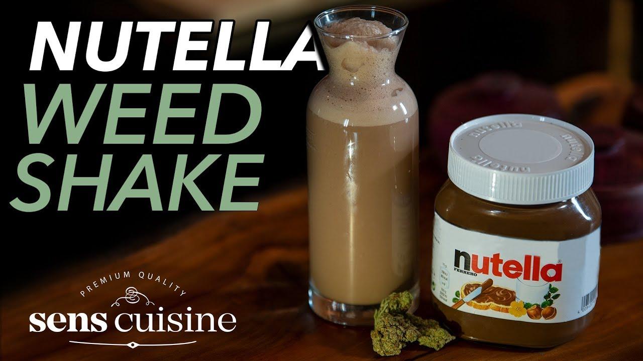 Der NUTELLA Weed Milchshake! 1