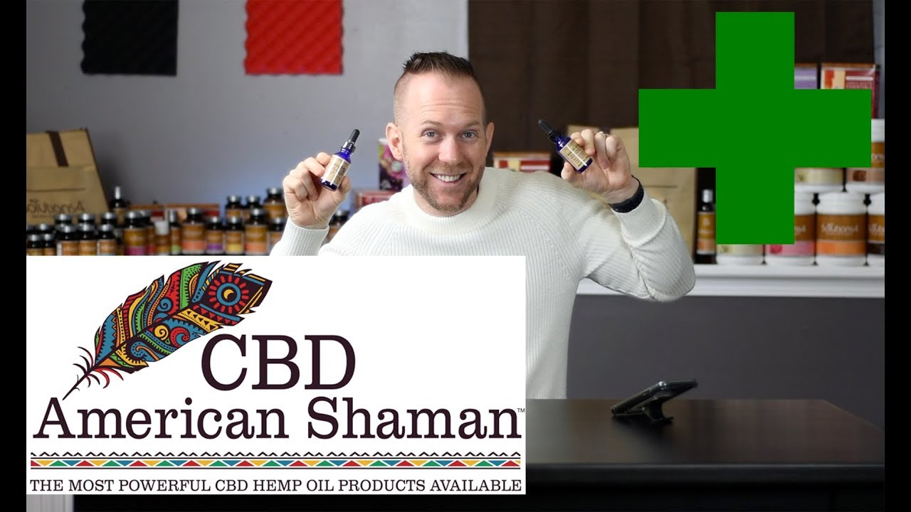 The BEST CBD Oil | American Shaman | Anxiety | Depression | Pain 1