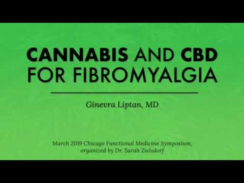 Cannabis and CBD for Fibromyalgia 1