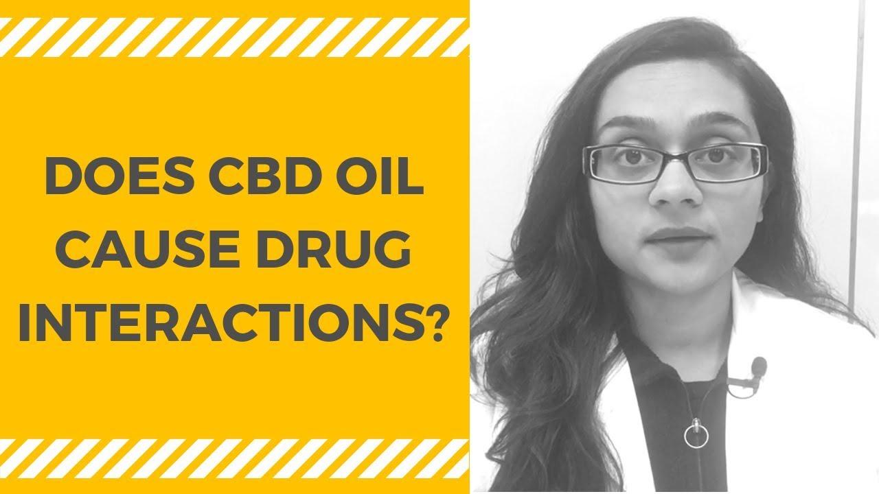 CBD Oil Drug Interactions 1