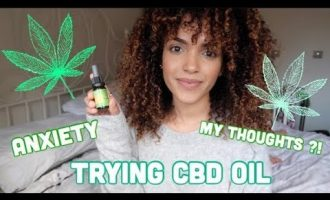CBD OIL FOR ANXIETY REVIEW #1 | Amy maxine 5