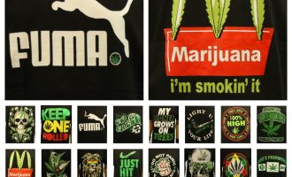 Fashion Graphic T-Shirt Weed Marijuana Mexico Crew Neck Printed Hipster Funny 10