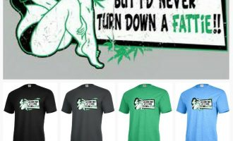 I Like Skinny Girls never turn down fattie weed Funny Graphic T-shirt Adult P525 4