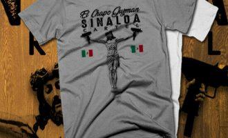Kingpin Sinaloa Grey Sicario Pullover Hoodie T-shirt cotton Weed marijuana 1