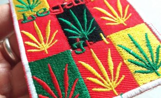 Marijuanas Legalize Embroidered Sew Iron Craft Applique Patches 9