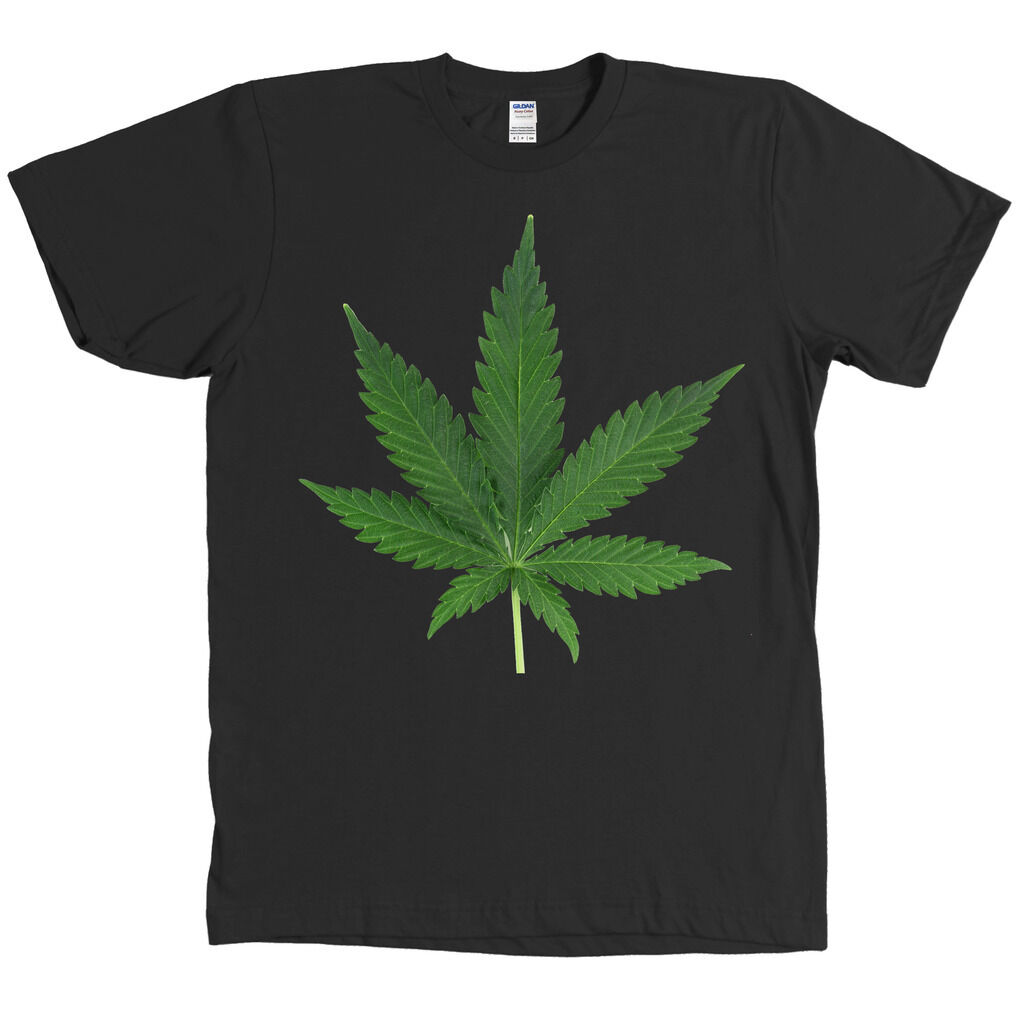 Weed Leaf Real Picture T Shirt Marijuana Pot 420 Tee MANY COLORS - NEW WITH TAGS 1