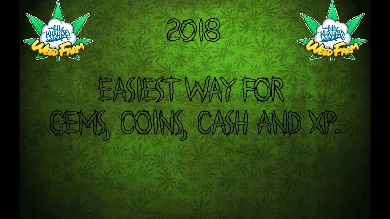 *2018* Wiz Khalifa's Weed Farm - Easiest way to get: Gems, Money, Cash & XP. 1
