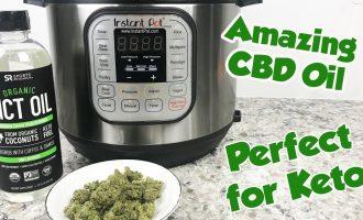 Make your own CBD Oil -  MCT for Keto 4