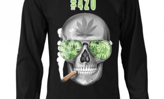 #420 Mens Longs Sleeve Weed Shirt 11