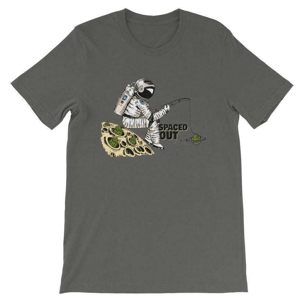 Spaced Out Weed T-Shirt 1