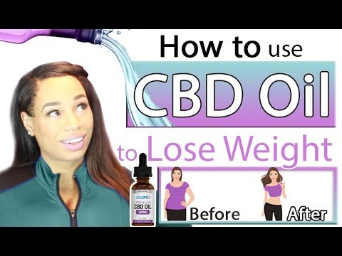 How to use CBD Oil to lose weight 1