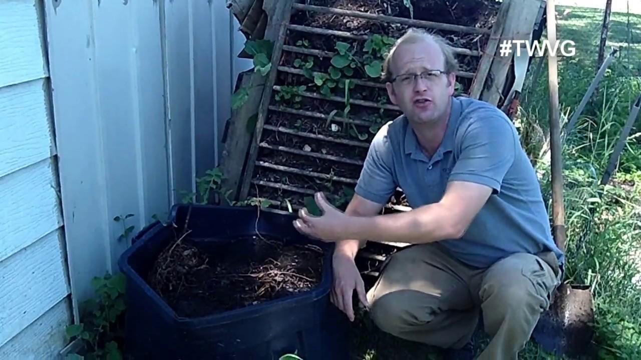 Making weed tea - Garden Tip 1