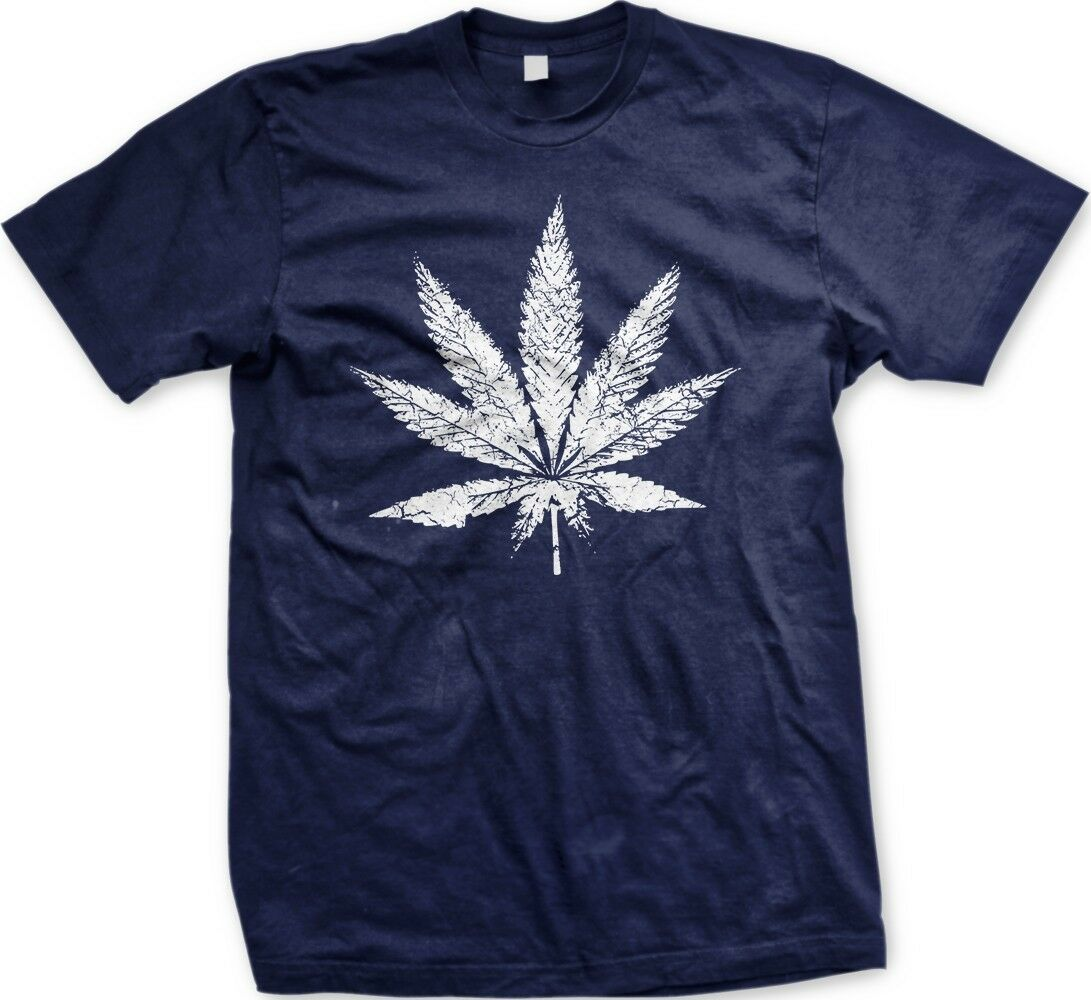 Marijuana Leaf - Weed Funny Pothead Sayings Slogans Statements- Men's T-shirt 1