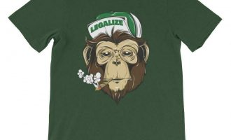 Stoned Monkey Legalize Weed T-Shirt 18