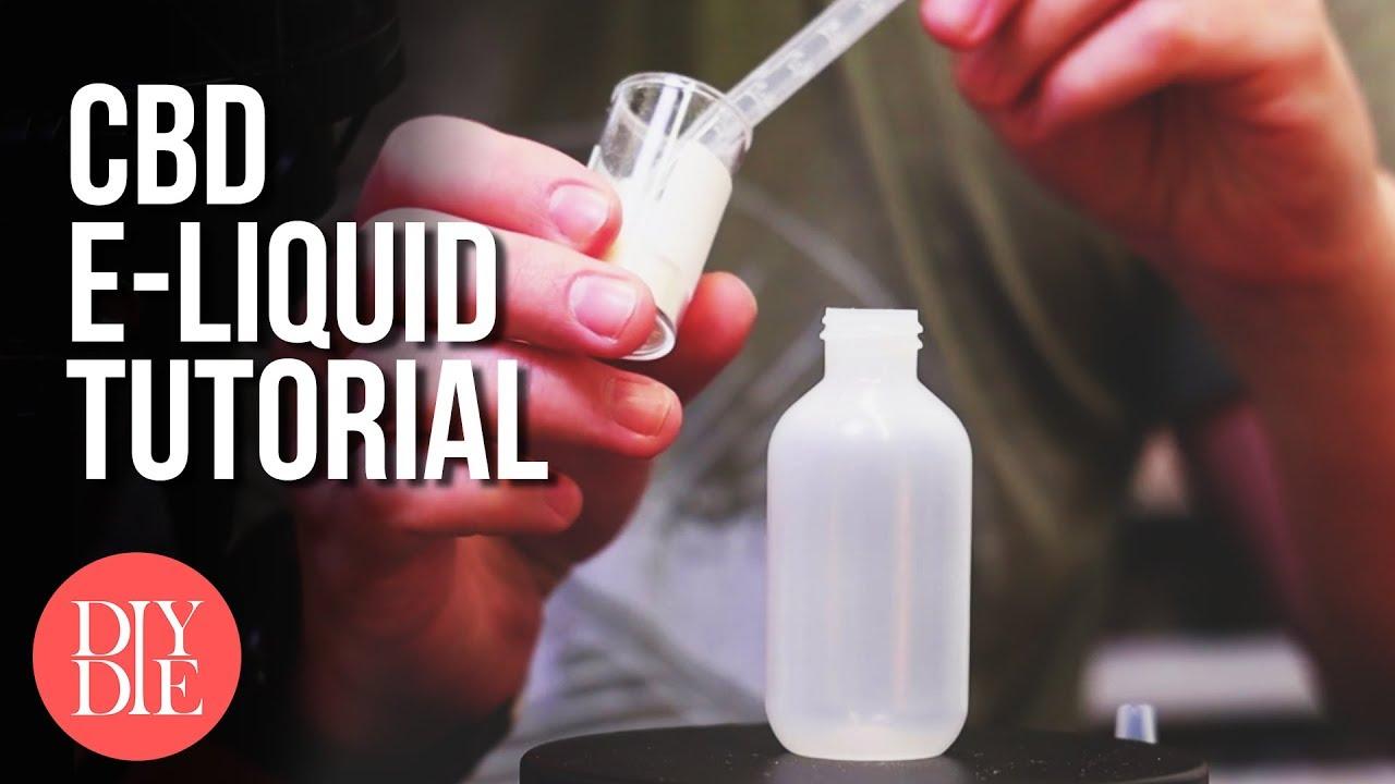 How to Make CBD E-liquid (Safe & 100% Legal) 1