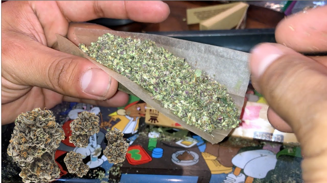 SMOKING PURPLE WEED FOR 50K SUBS 1