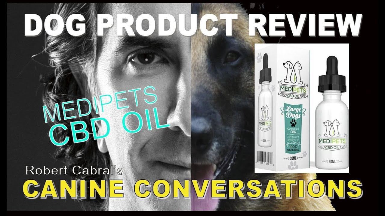 CBD Oil for Dogs - MediPets CBD OIL - Healthy and Natural Calming and PAIN Relief 1