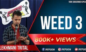 WEED 3 | Nepali Stand-up Comedy | Lekhmani Trital | Nep-Gasm 2