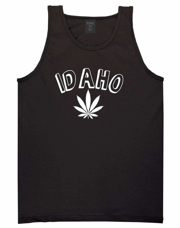 Marijuana Weed Idaho USA State ID Tank Top T-Shirt 1