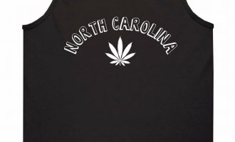 Marijuana Weed North Carolina USA State NC Tank Top T-Shirt 4