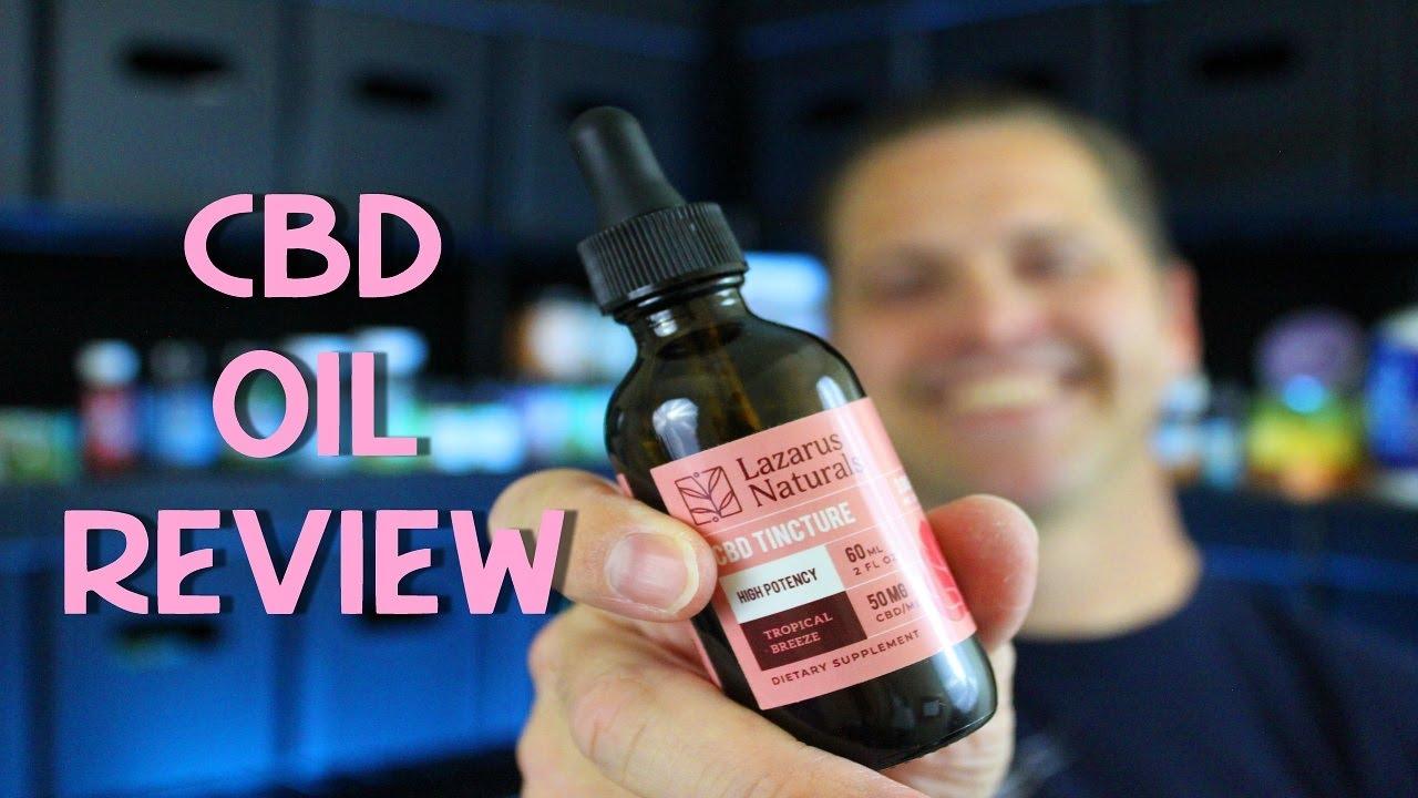 Lazarus Naturals CBD Oil Review! 1