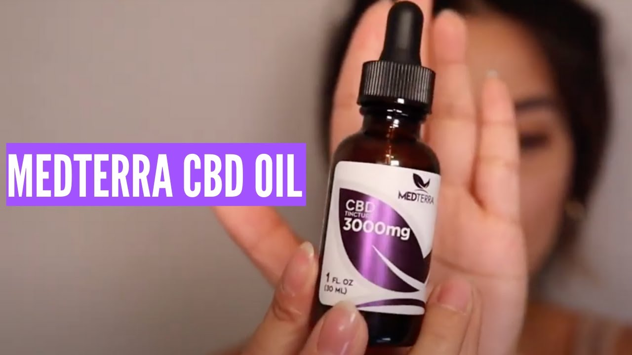 High-Dosage CBD Oil (MedTerra 3000mg Review) 1