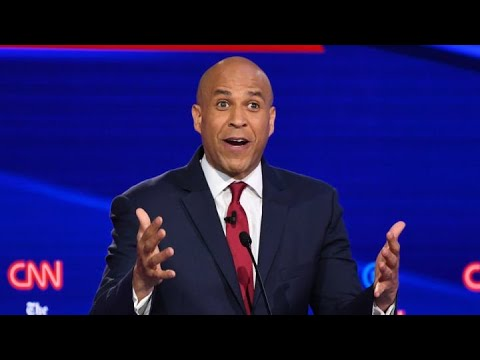 Cory Booker goes after Biden on race record and marijuana stance 1