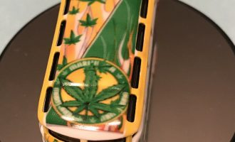 Hotwheels VW DRAG BUS HighBoy Marijuana's Vw Bus , Real Riders , It's A Custom 1