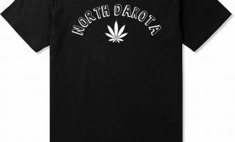 Kings Of NY North Dakota ND Marijuana Leaf Weed T-Shirt 7