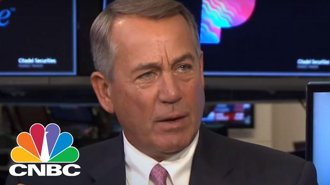 Former Speaker John Boehner On Legalizing Marijuana | CNBC 1