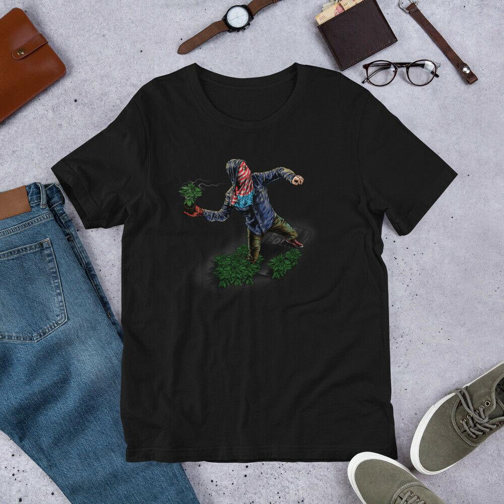 Weed Rebellion-Cannabis, Weed, Marijuana, 420 T Shirt 1