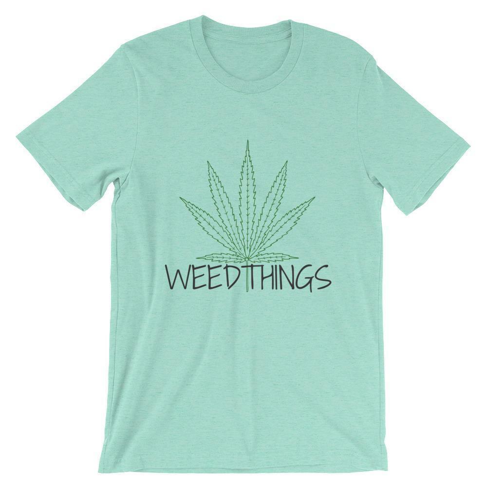 Weed Things Short-Sleeve Unisex T-Shirt 1