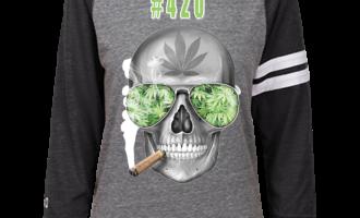 #420 Weed Heathered Vintage Shirt 7
